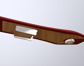 3D asset Renton Air Surf Board Eureka Seven