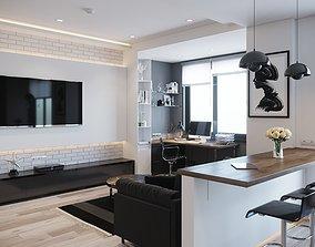 3D model Interior Design no1