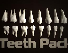 Teeth Pack 3D model