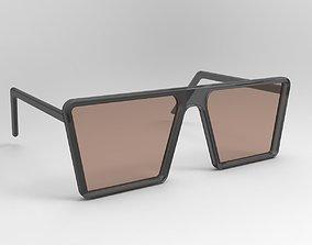 Simple Glasses 3D model