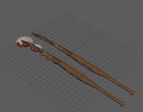 3D model Scrap Claymore