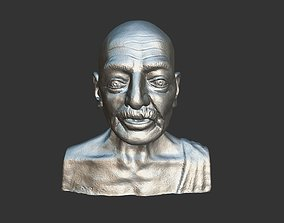 Gandhi by Enrique Garcia 3DP