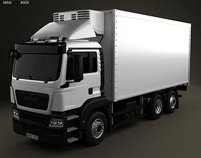 3D model MAN TGS Refrigerator Truck 2012