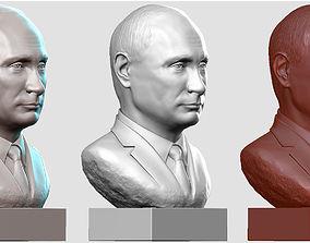 3D print model Vladimir Putin sculptures