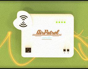 3D model Air-Patrol Heart Home V1