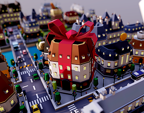 Tarbo - City Pack 3D asset