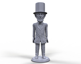 Abraham Lincoln stylized 3D printable miniature high