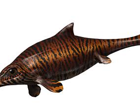 Ophthalmosaurus Asset Pack animated