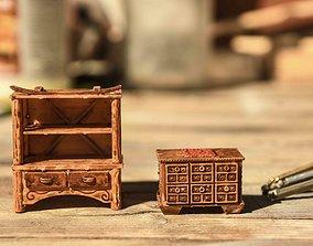 28mm furniture 3D printable model