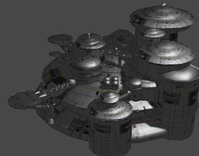 3D Sci-Fi Apartments