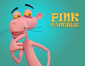 3D model Pink Panther