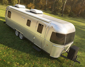 Airstream Classic trailer 2017 3D model