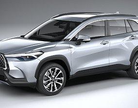 3D Toyota Corolla Cross 2021