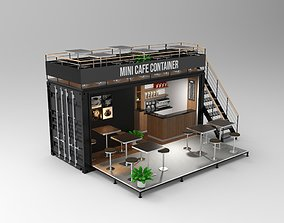 Mini Cafe Container 3D
