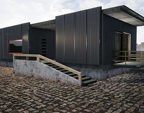 Urban Style House 3D model