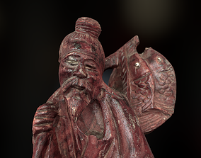 Props - Artwork - Chinese Statue 02 - 3D model