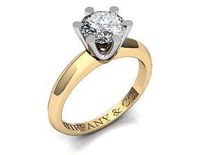 3D printable model Diamond Ring BK412