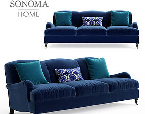 3D model Williams Sonoma Bedford Sofa 87 inches