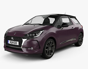 DS3 Prestige hatchback 2016 3D model