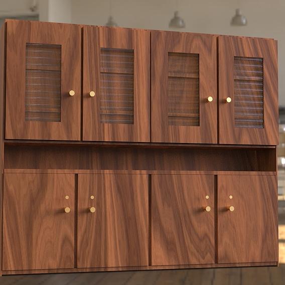 Cabinet furniture 3D modeling