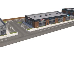 3D Retail-117 Retail Stores