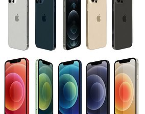 3D model Apple iPhone 12 And Pro