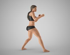 3D print model Boxer Girl 2