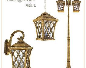 3D model Street lights Vialight SP vol 1