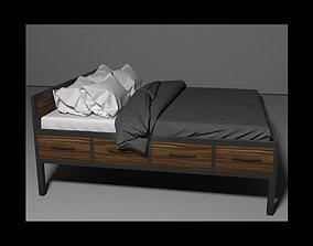 3D pillow Loft bed