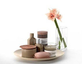 3D model Lilium with Carita Products