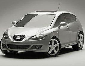 Seat Leon 2009 3D model