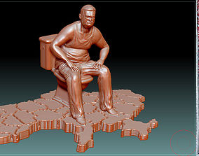 3D printable model Monument to corruption stl