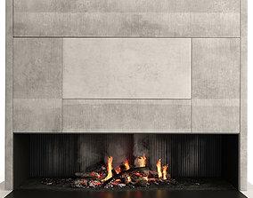 accessories 3D Fireplace Modern
