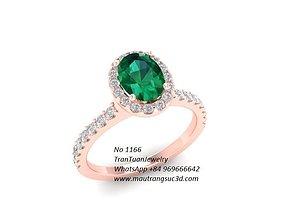 1166 Diamond Ring 3D printable model
