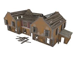 3D model Abandoned House 07