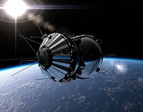 3D Spaceship Vostok-1