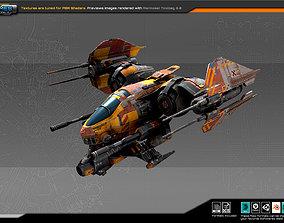 Smuggler Bomber SM8 3D asset