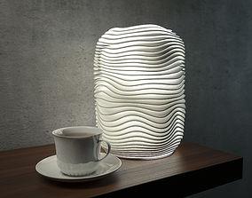 3D printable model Wave lamp 4 high quality version