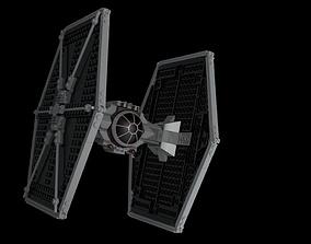 LEGO Starwars TIE fighter 3D model