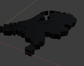 realtime The Netherlands map 3D