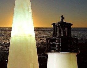 Ocracoke Lighthouse 3D printable model