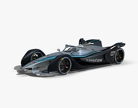 3D asset Mercedes Formula E 2020