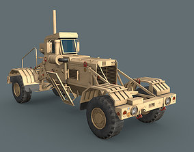 Husky mine detection vehicle 3D model