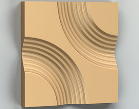 3D model Wall panel 009 onlay