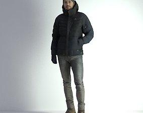 3D Scan Man Winter 003