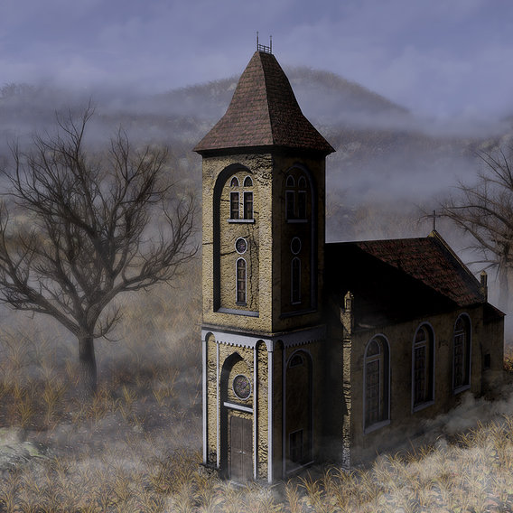 Post apocalyptic church