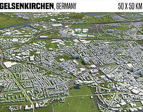 3D model Gelsenkirchen Germany