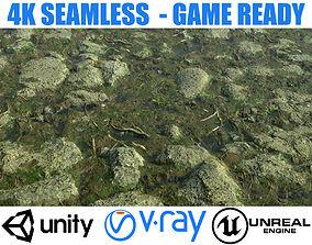 3D model Mossy Rock Ground