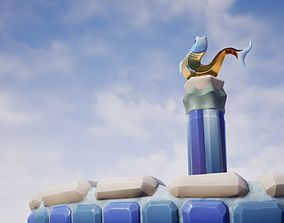 3D model Elegant Versatile Fountain Set