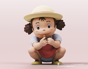 3D print model Mei Kusakabe-My Neighbor Totoro